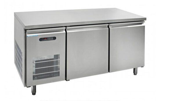 ตู้นอนแช่เย็นสแตนเลสเกรด 304 บานกระจก รุ่น YPC-150SR