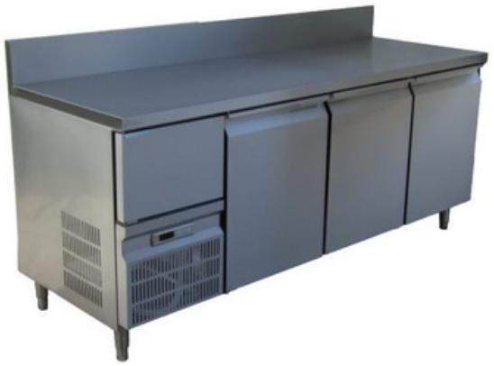 ตู้นอนแช่เย็นสแตนเลสเกรด 304 บานทึบ รุ่น YPC-180SR