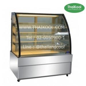 ตู้แช่เค้กแบบกระจกโค้ง 3 ชั้น รุ่น SKK-1507Z
